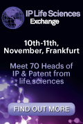 Picture IQPC IP Life Sciences Exchange 2015 Frankfurt Germany 120x180px