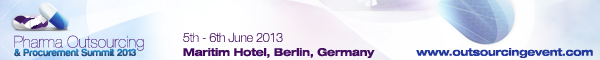 Banner WTG Pharma Outsourcing and Procurement Summit June 2013 Berlin 600x60px